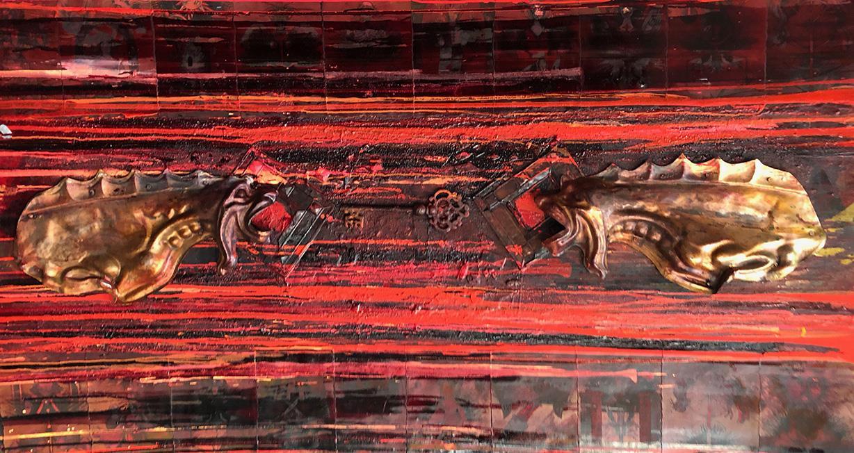 chimere chayan khoi peintre artiste iranien
