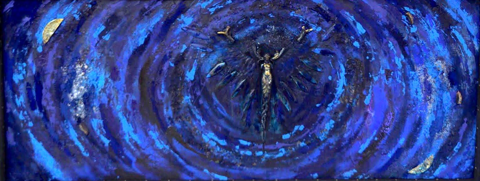danse des anges chayan khoi peintre artiste iranien
