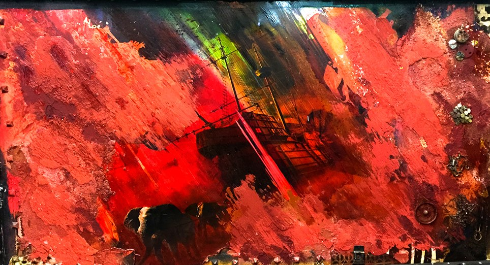 noe chayan khoi peintre artiste iranien