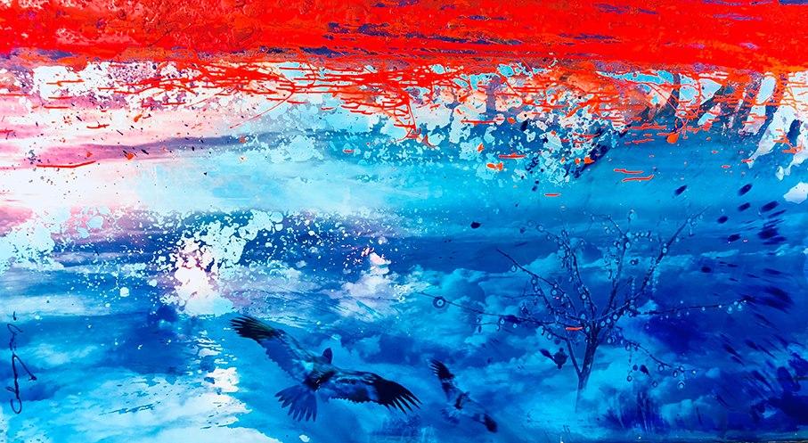 spirituelle chayan khoi peintre artiste iranien
