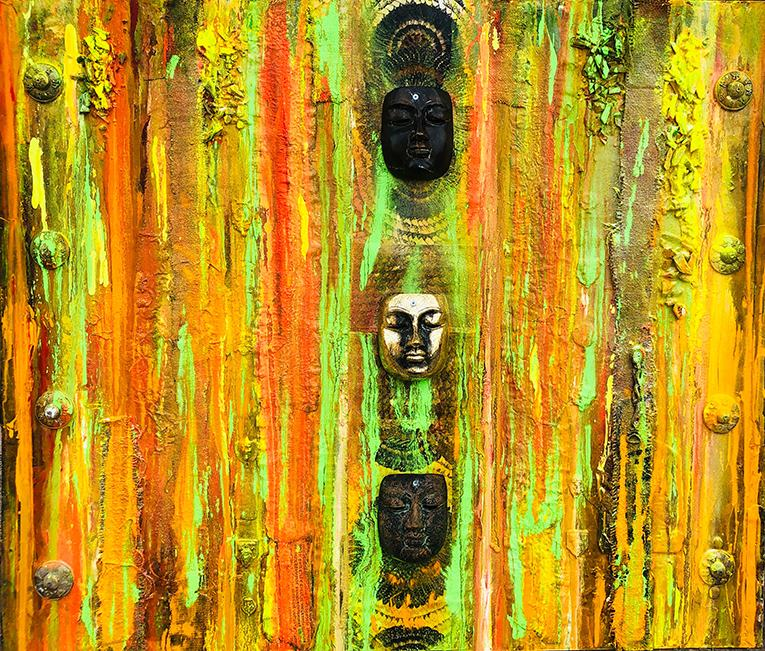 tibet chayan khoi peintre artiste iranien