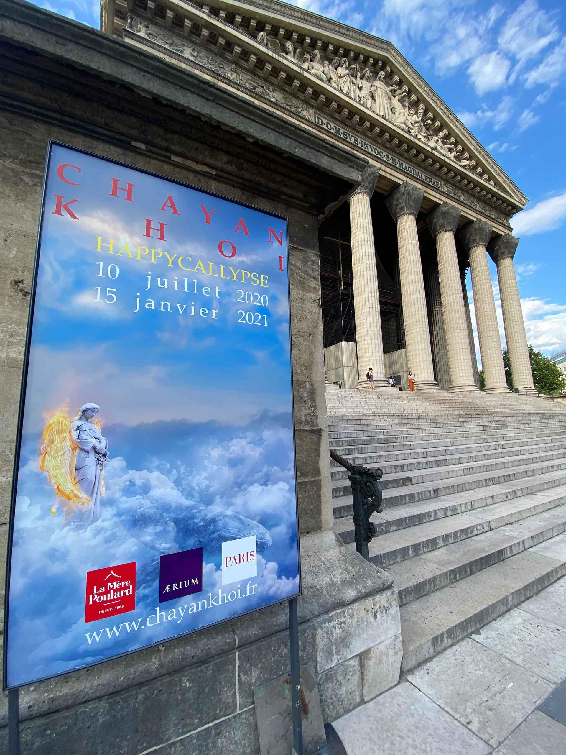 EXPOSITION CHAYAN KHOI-EGLISE DE LA MADELEINE-2020
